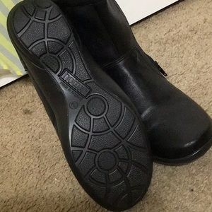 Made in England Black Leather Ankle Boot Size 8